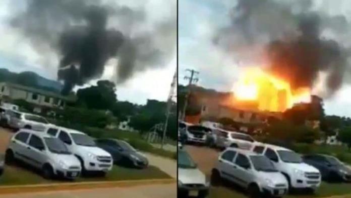 Deja atentado con coche bomba 36 heridos en Colombia