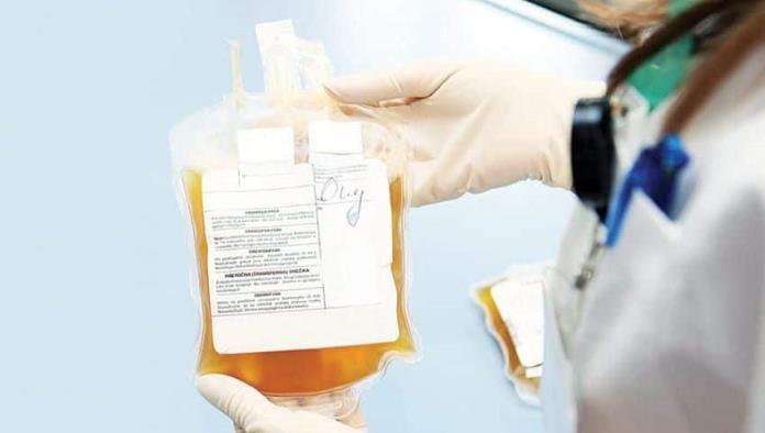 Urgen se reanude la donación de plasma