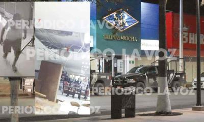 En Salinas y Rocha roba tienda; se mete por ductos