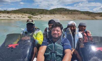 Rescatan a  migrantes