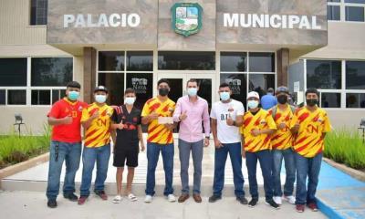 Apoya alcalde  Sergio Zenón  al club Nava
