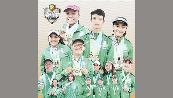 Coahuila primer lugar en Juegos Nacionales CONADE 2021