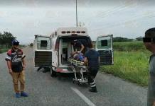 Ambulancia se queda sin gasolina y ¡paciente muere! en El Mante