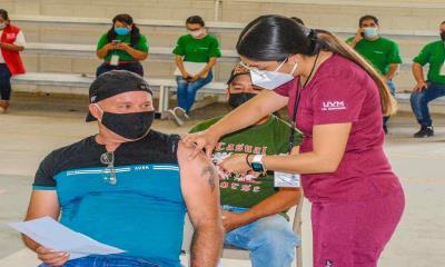 Concluye vacunación de adultos mayores