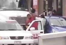 Acaban a golpes taxista e In Driver