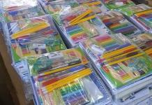 Preparan entrega  de 35 mil paquetes  de útiles y libros