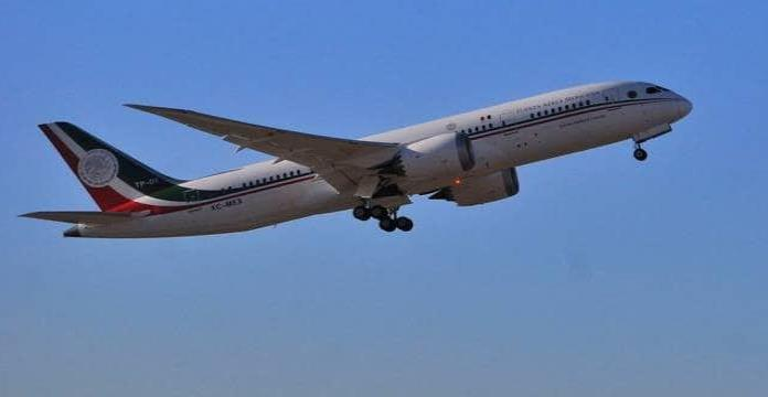 Parte el avión presidencial hacia juegos olímpicos de Tokio