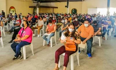 Vacunan a jóvenes de Villa Unión