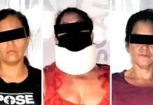 Tres mujeres pelean por el amor de un hombre y son detenidas en Nuevo León
