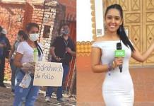 Reportera que vende empanadas respondió a las burlas y se hizo viral en Bolivia