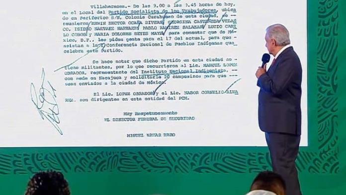 ´Espionaje ya no sucede, somos distintos´, asegura López Obrador