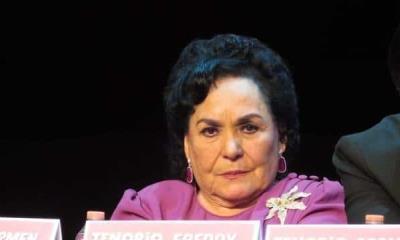 Carmen Salinas cree que México podría terminar como Cuba