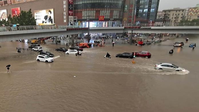 Inundaciones en China; 10 mil evacuados hasta el momento