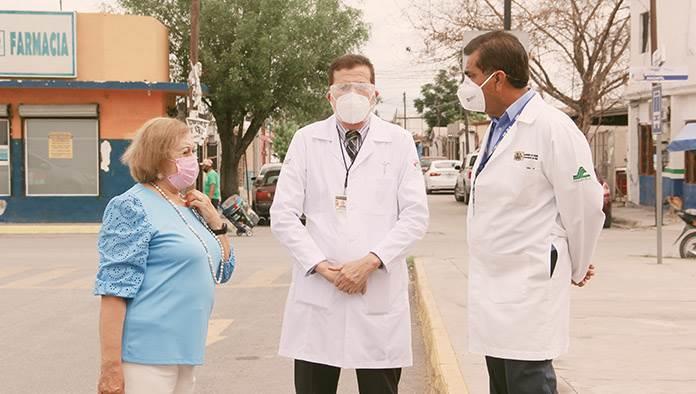 Positivos dos médicos del Amparo Pape
