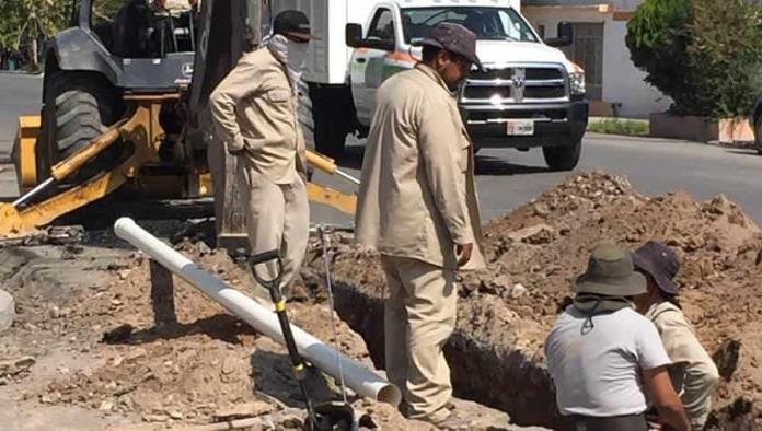 Dan mantenimiento a red general de agua