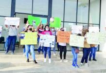 Protestan libertad de homicida