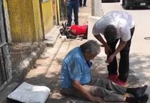 REPORTAN  COMO  GRAVE A REPARTIDOR  QUE SUFRIO ACCIDENTE