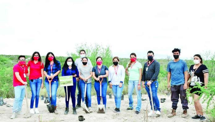 Un éxito la reforestación del Ecoparque