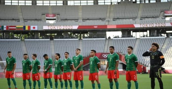 Selección Mexicana recibe críticas por su uniforme para Juegos Olímpicos de Tokio 2021