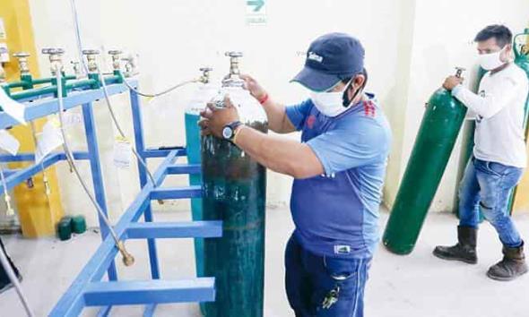 Crece demanda de oxígeno en Coahuila