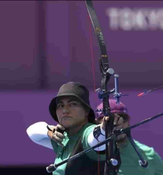 ¡Ya cayó la primera! México consigue medalla de bronce en tiro con arco mixto