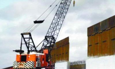 Cancela EU contratos para muro en la frontera con México