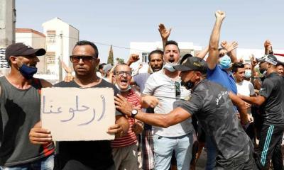 Alta tensión en Túnez; Presidente desintegra parlamento