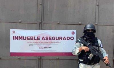 Fiscalía del Edo. de México asegura casa donde mataron a perrito