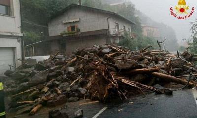 Naturaleza no da tregua a Italia; Lluvias golpean con fuerza