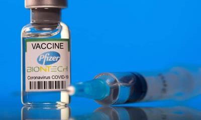 Efectividad de vacuna covid de Pfizer disminuye con el tiempo; protege mínimo 6 meses