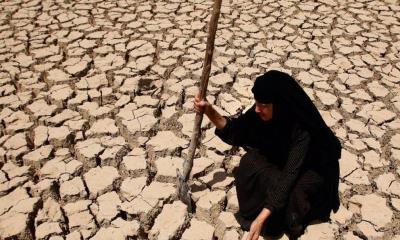 Protestas en Medio Oriente; A 50 grados y sin agua potable