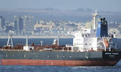 Buque petrolero es atacado en Golfo Pérsico