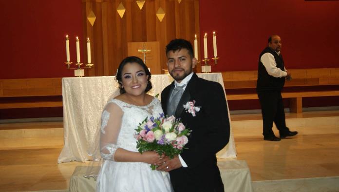 LESLY Y JOSE SE UNEN EN FELIZ MATRIMONIO