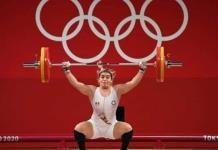 Aremi Fuentes obtiene medalla de bronce en halterofilia de los Juegos Olímpicos de Tokio