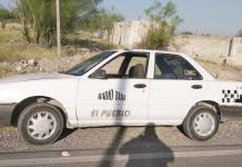 En operativo de SP aseguran taxi abandonado