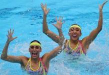 ¡Sirenas a la final!; Mexicanas buscan medalla en nado sincronizado