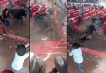 Jaripeo termina en tragedia; Toro golpea a 10 personas