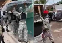 CJNG entrega despensas a damnificados en Jalisco