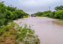 Incomunican lluvias  a Allende y V. Unión