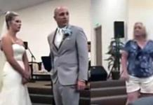 """""""Me va a robar a mi hijo"""": suegra interrumpe la boda y se pelea con la novia"""