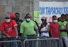 Detectan brote de covid entre migrantes haitianos en Chiapas