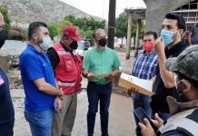 MANTIENE ATENCIÓN Y ACCIONES DE LIMPIEZA EL GOBIERNO DE COAHUILA EN ZONAS AFECTADAS
