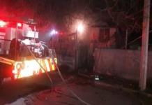 Conato de incendio  moviliza a Bomberos