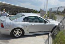 Choca 'Toretto' barda del Mall