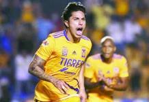 Tigres rescató el empate contra Santos