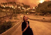 Siete días ardiendo; Grecia vive poderosos incendios