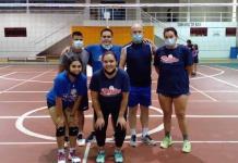 Cierre de jornada  en el voleibol mixto