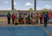 Celebran a jóvenes con pinta de murales