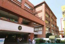 A días del regreso a clases; Hospital infantil de México esta al 100% de capacidad