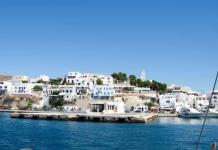 Náufraga yate con 18 personas en Grecia